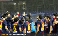 El Barça Intersport continua intractable