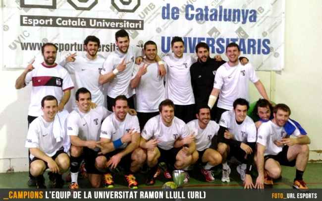 URL i UB campions de Catalunya universitaris